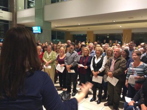 crowd-singing